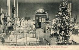 POST CARD SCOTTISH EDINBURGH THE LADY JANE DUNDAS WARD OF THE ROYAL HOSPITAL FOR SICK CHILDREN - Midlothian/ Edinburgh