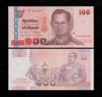 Thailand 100 Baht 2005 Pick 114 Sign81 UNC - Tailandia