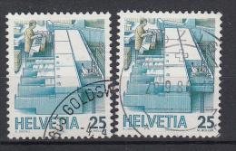 ZWITSERLAND - Michel - 1986 - Nr1323ya+yb - Gest/Obl/Us - Switzerland