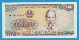 VIETNAM 1000 DONG 1988 SERIE QG  P# 106a   Ho Chi Minh UNC - Vietnam
