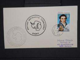 POLAIRE-Enveloppe Du Territoire Anglais à Signy En 1985 Pour L Allemagne  à Voir  P6268 - Brieven En Documenten