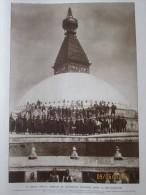 1925 NEPAL  Temple Tibétain  De BOUDNATH Pasoupati  Patan  Katmandou Royaume Des Gourkhas Maharadjah - Nepal