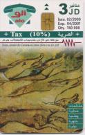 JORDAN PHONECARD MOSAIC IN MAKHEET  A 73-150000pcs-2/00-USED(2)