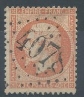 Lot N°29439     N°23, Oblit GC 4078 VALENCIENNES (57) - 1862 Napoleon III