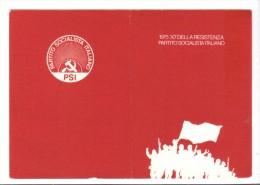 VOL479 - PARTITO SOCIALISTA ITALIANO , Tessera Del 1975 - Organizzazioni