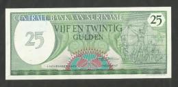 SURINAME - CENTRALE BANK Van SURINAME - 25 GULDEN (1985) - Suriname