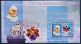 BP3 - Congo 2006 - Bloc Feuillet NEUF ** MNH - Les Bâtisseurs De La Paix - Jean-Paul II - Orchidées Orchids - Andere