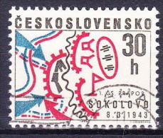Tchécoslovaquie 1968 Mi 1773 (Yv 1622), Obliteré - Oblitérés