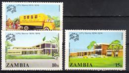 Zambia,100 Years Of UPU 1974.,MNH - Zambia (1965-...)