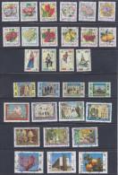 E11 Lebanon 1978 Mi.1254-1284 Complet Set Of 30v. MNH Stamps Overprinted Security Chain - Lebanon