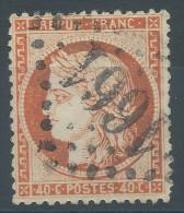 Lot N°29452     Variété/n°38, Oblit GC 1661 GIVORS (68), Ind 3, Filets SUD Et OUEST - 1870 Siege Of Paris