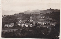 Meyras 07 - Panorama Ville - Cachet Manuel 1950 - Autres Communes
