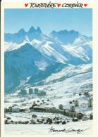 LA TOUSSUIRE - LE CORBIER Stations De Ski De Savoie (73) Aiguilles D´Arves ALPES (circulé 1990 Voir Détails 2scan) MX051 - France