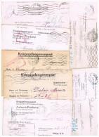 LETTRE PRISONNIER GUERRE 1941  ALLEMAGNE TOURS 37 STALAG KRIGSGEFANGENEN-POST.7 COURRIERS. - Marcophilie (Lettres)