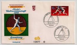 Germany-Berlin, 1978, World Fencing Championship, FDC, Berlin, 13-4-78 - Scherma