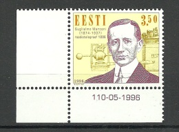 Estland Estonia 1996 Guglielmo MARCONI Radio Telegraph 100. Anniversary Michel 280 MNH - Telecom