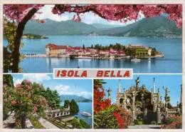 Lago Maggiore , Isola Bella , Mehrbildkarte - Verbania