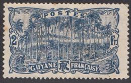 Timbre De 1904 / 07, Guyane Française ' '  Yvert N° 64 ' ' 2 F. Place Des Palmiers, à Cayenne - Guyane Française (1886-1949)