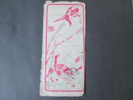 Brief China 1901 Corps expeditionnaire de Chine.Gesendet nach Versailles (Chateau)!Zierbrief / G�nse. Tolles St�ck!! RAR