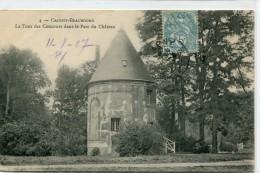 CPA 77 CROISSY BEAUBOURG LA TOUR DES CONCOURS DANS LE PARC DU CHATEAU 1907 - France