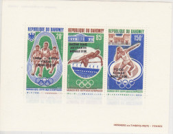 Bloc Feuillet ** N°20 - Bénin – Dahomey (1960-...)