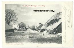 21-POUILLY (cachet Poste )Village En Bourgogne Sous La Neige (cachet Poste )édit-Aubert 10 Rue Liberté DIJON - Altri Comuni