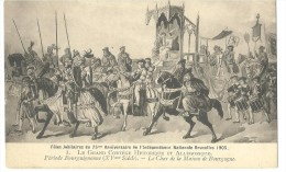 ! - Fêtes Jubilaires Du 75ème Anniversaire De L'Indépendance Nationale De La Belgique - Bruxelles 1905 - Evénements
