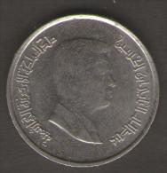 GIORDANIA 5 PIASTRES 2000 - Giordania