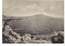 VOL510 - NAPOLI MERGELLINA  1952. Francobollo Asportato - Napoli