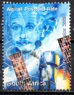 SOUTH AFRICA 2005 Year Of Physics - (3r.65) Einstein FU - África Del Sur (1961-...)