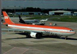 LTU Airways Airlains Airbus A330-322 Avion A 330 Lot Aircraft D-AERK Aviation Aiplane A-330 - 1946-....: Era Moderna