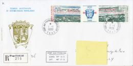 Port Aux Français, Recommandé 1999 - Anniversaire De La Base De Kerguelen - Terres Australes Et Antarctiques Françaises (TAAF)
