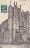 C P A---77---MONTEREAU---l´église Notre Dame ---voir 2 Scans - Montereau