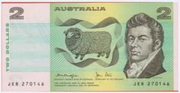 AUSTRALIE - 2 Dollars - Australia - De 1979 - Pick 43c - Emissions Gouvernementales Décimales 1966-...