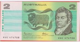 AUSTRALIE - 2 Dollars - Australia - De 1985 - Pick 43e - Emisiones Gubernamentales Decimales 1966-...
