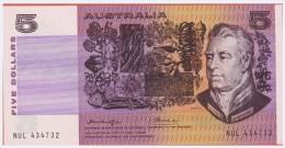 AUSTRALIE - 5 Dollars - Australia - De 1976 - Pick 44b - Emissions Gouvernementales Décimales 1966-...