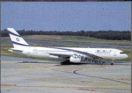 Boeing B757 -4X-EBV Air EL AL Airlines B.757 Cartes Avion B 757 Avion B-757 Israele - 1946-....: Moderne