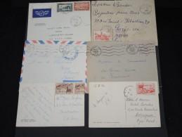 FRANCE - Lot De 100 Lettres MAROC Essentiellement Avant Indépendance - Belle Qualité - Lot 6934 - Maroc (1891-1956)