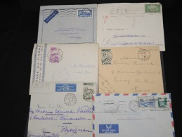 FRANCE - Lot De 100 Lettres MAROC Essentiellement Avant Indépendance - Belle Qualité - Lot 6936 - Maroc (1891-1956)