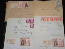 FRANCE - Lot De 100 Lettres MAROC Essentiellement Avant Indépendance - Belle Qualité - Lot 6937 - Maroc (1891-1956)