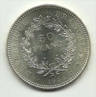 1975 - Francia 50 Francs, - M. 50 Franchi