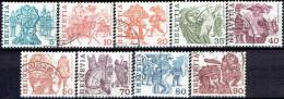 SWITZERLAND # STAMPS FROM 1977 STANLEY GIBBON 939-947 - Suisse