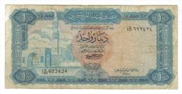 Libya 1 Dinaro 1972 Mb NATURALE  LOTTO 934 - Libia