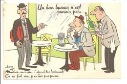 HUMOUR - Illustrateur CHEN -  Un Bon Buveur N'est Jamais Pris... - Otros Ilustradores