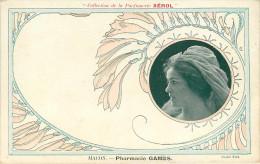 Publicité - Femmes - Femme - Spectacle - Artistes  ? - Collection De La Parfumerie Xérol - Macon - Pharmacie Gamès -état - Advertising