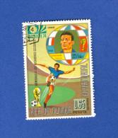 REP DE GUINEA ECUATORIAL FOOTBALL MUNICH 74  OBLITERE 2 SCANNE - Coppa Del Mondo
