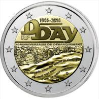 """FRANCIA  2€  2.014/2014  SC/UNC BIMETALICA    """"70 Aniversario Del Dia D""""  T-DL-11.047 - France"""