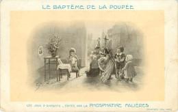 Enfants - Les Jeux D'enfants - Publicité Phosphatine Falières - Illustrateurs - Illustrateur - Lots - Lot De 19 Cartes - Enfants
