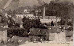 Regny - Société Anonyme Et Route De St-Victor - Andere Gemeenten