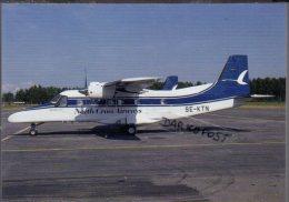 Dornier 228-100 Air North Cross Airways SE-KTN  Aircraft Aviation Aiplane - 1946-....: Moderne